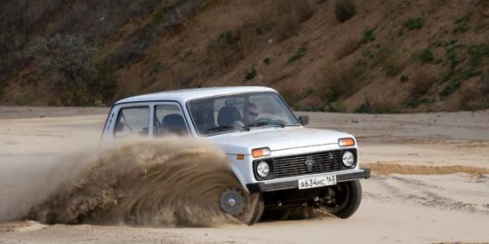 Отечественная Lada 4x4 - самый популярный внедорожник
