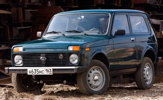Lada 4x4 популярный отечественный внедорожник